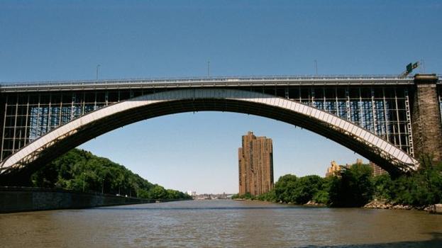 Washington Bridge, New York City, New York.