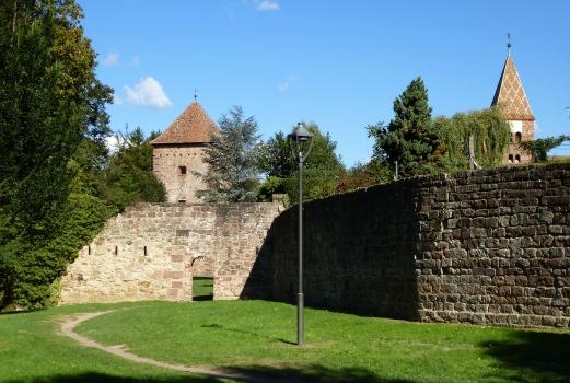 Stadtmauern von Wissembourg