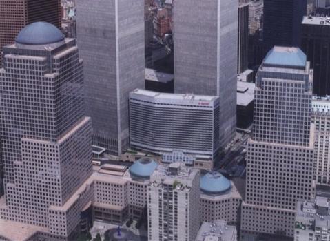 Two und One World Financial Center, New York