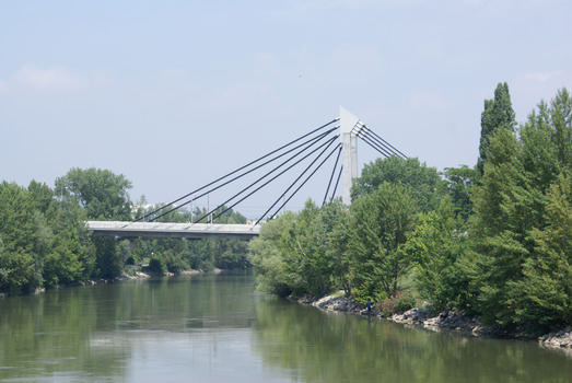 Brücke der U6 über den Donaukanal, Wien