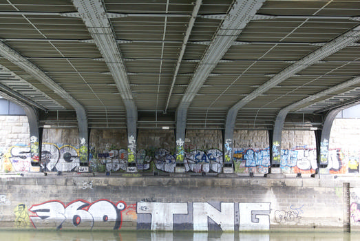 Augartenbrücke, Vienne