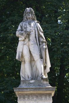 Johann Bernhard Fischer von ErlachStatue in front of Vienna City Hall