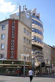 Former bank builidng on Favoritenstrasse, Vienna