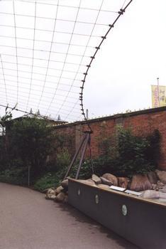 Aviary in the Wilhelma Zoo, Stuttgart