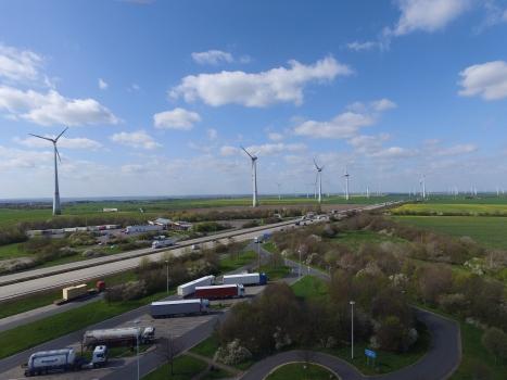 Enercon E-126 Windkraftanlagen Stößen