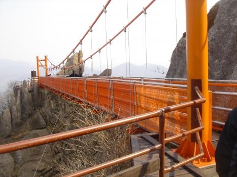Hängebrücke Wolchulsan