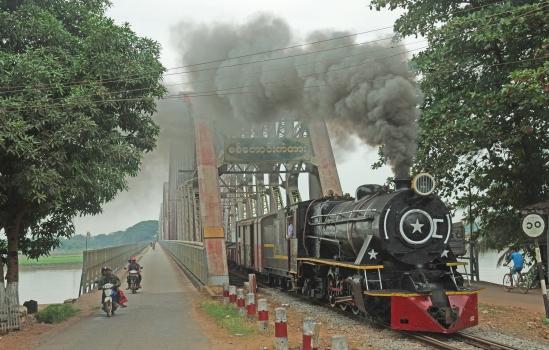 Pont sur le Sittaung