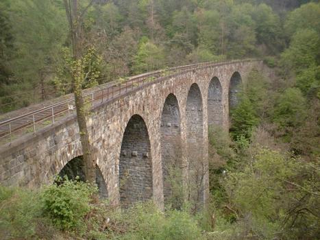 Eisenbahnviadukt Žampach
