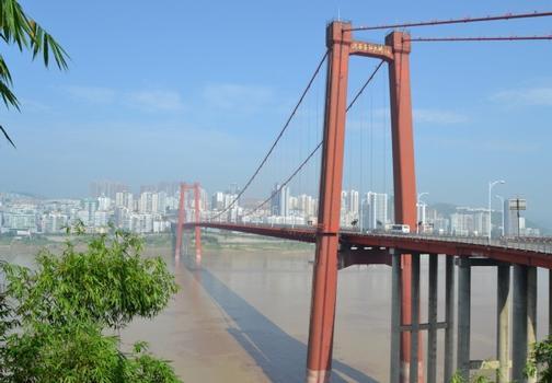 Jangtsebrücke Zhongxian