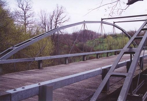 Whipple Cast & Wrought Iron Bowstring Truss Bridge, Normans Kill