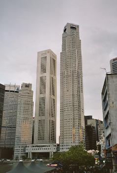 UOB Plaza & OUB Centre, Singapour