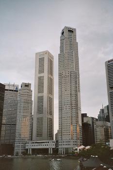 UOB Plaza & OUB Centre, Singapore.