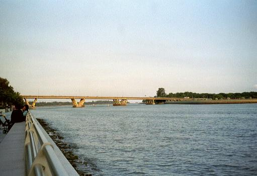 Benjamin Sheares Bridge, Singapour