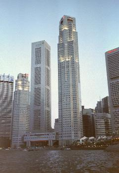 UOB Plaza & OUB Centre, Singapur