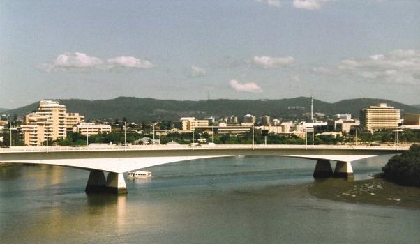 Captain Cook Bridge, Brisbane, Australia.