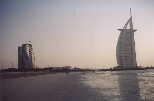 Jumeirah Beach Hotel & Burj al Arab, Dubai