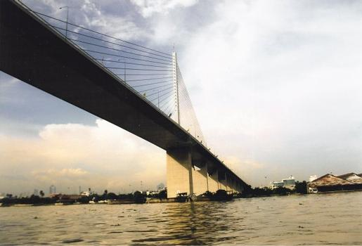 Rama IX Bridge, Bangkok.
