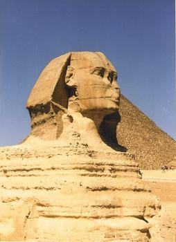 Der Große Sphinx in Giza