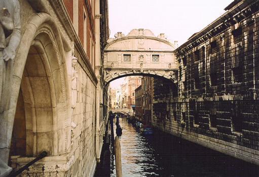 Bridge of Sighs, Venise.