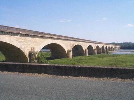 Pont ferroviaire, Chalonnes