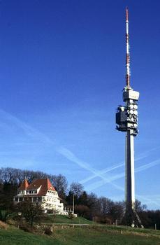 Fernmeldeturm St. Chrischona, Basel, Schweiz.