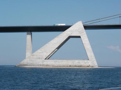 Pont est sur le Grand Belt
