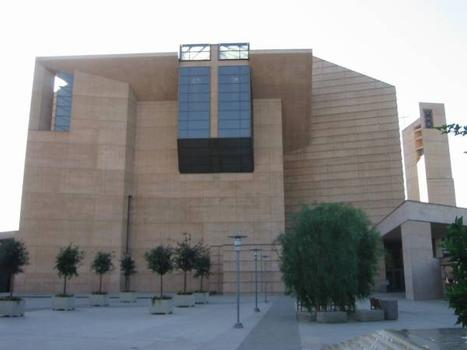 Cathedral of Our Lady of the Angels, Downtown Los Angeles, California.