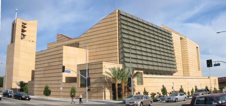 Cathedral of Our Lady of the Angels, im Zentrum von Los Angeles, Kalifornien (USA).