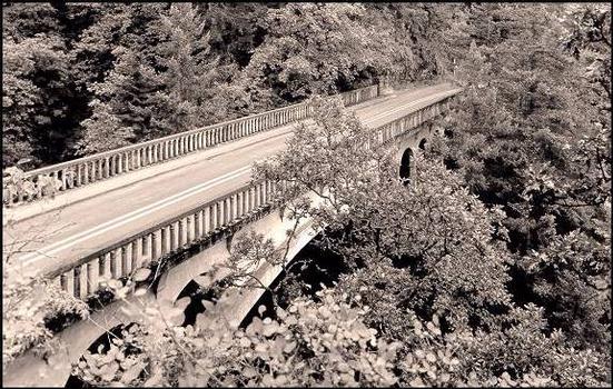Shepperd's Dell Bridge, Latourell, Oregon