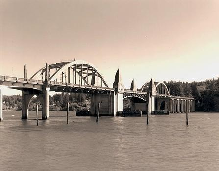 Siuslaw River Bridge. Courtesy of Oregon Department of Transportation