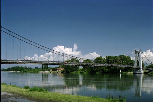 Hängebrücke La Voulte.