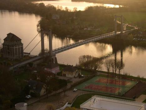 Pont suspendu des Andelys