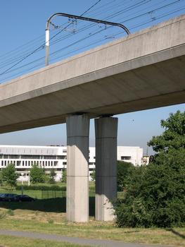 Viaduc du Ru de Maubuée - Torcy, Seine-et-Marne (77), Ile de France, France