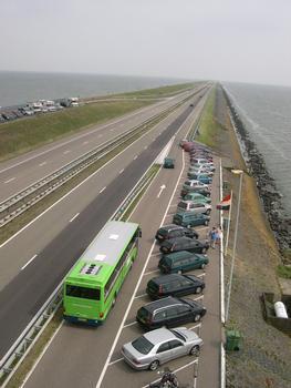 Afsluitdijk, IJsselmeer, Niederlande