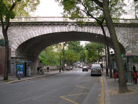 Pont de la Rue Charles Renouvier, Paris