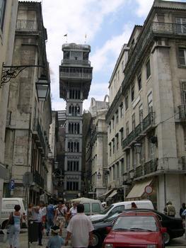 Ascenseur de Santa Justa - Lisbonne, Lisbonne, Portugal