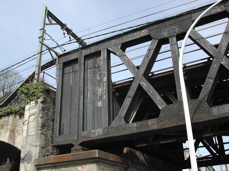 Pont de fer, Bayonne.