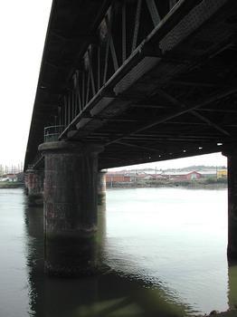 Pont de fer, Bayonne
