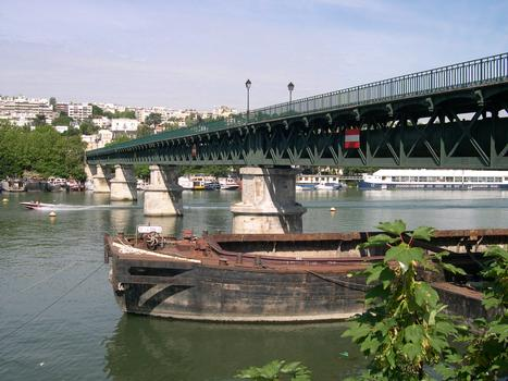 Avre Footbridge, Boulogne-Billancourt / Saint-Cloud, France