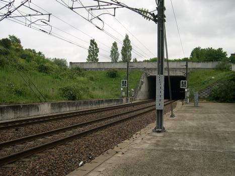 Tunnel de Limeil-Brévannes - Limeil-Brévannes, Val-de-Marne (94), Ile de France, France