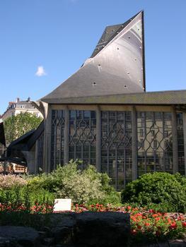 Joan of Arc Church, Rouen.