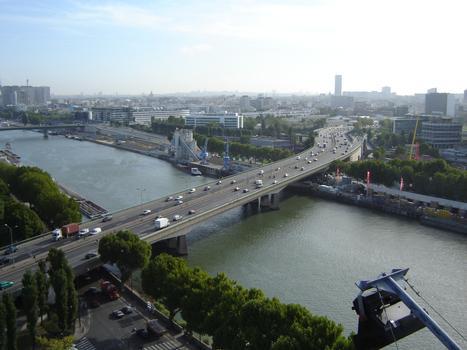 Pont Aval - Pont du Point du Jour- Paris
