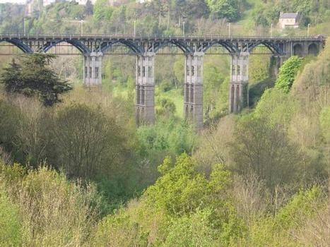 Viaduc de Toupin, Saint Brieuc - Côtes d'Armor - France