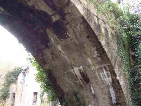 Vieux Pont de Boussac, Creuse, Frankreich