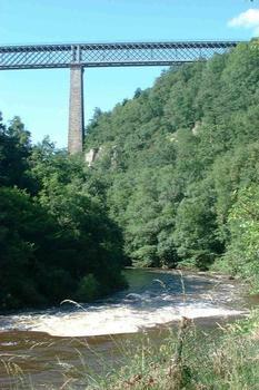 Viaduct de la Tardes, Evaux-les-Bains