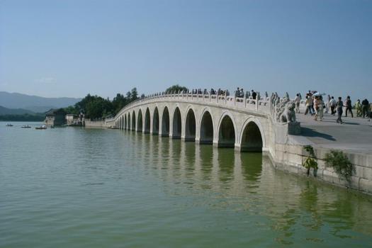 Pont de Dix-sept Arches, Palace d'été de Pékin