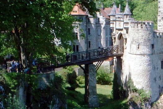 Schloss Lichtenstein Access Bridge