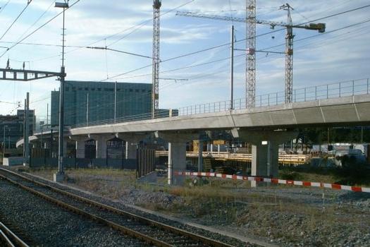 Tramviadukt Basel Bahnhof SBB