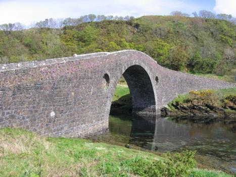 Clachan Bridge auch bekannt als «Bridge over the Atlantic»
