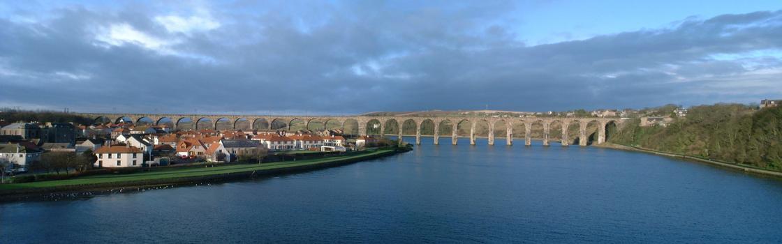 Royal Border Bridge in Berwick-upon-Tweed